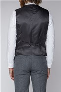 Grey Tweed Tailored Fit Suit
