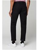5 Pocket Straight Black Jean