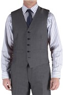 Grey Tonic Regular Fit Suit Waistcoat