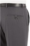 Grey/Blue Stripe Suit Trouser