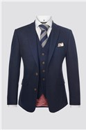 Navy Donegal Contemporary Jacket
