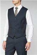 Dark Ink Plain Waistcoat