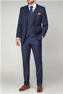 Scott Ink Blue Contemporary Fit Suit