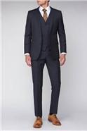 Scott Blue Black Pindot Waistcoat