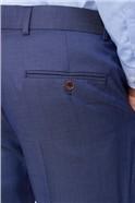 Navy Plain Pindot Suit