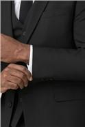 Black Panama Regular Fit Waistcoat