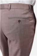 Dusky Pink Slim Suit