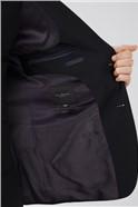 Black Panama Slim Suit