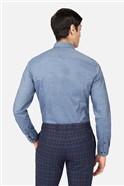 Slate Chambray Slim Fit Shirt