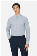 Navy Cross Geo Print Regular Shirt