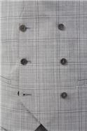 Light Grey Tonal Checked Suit