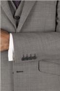Grey Pick & Pick Tailored Fit Suit Jacket