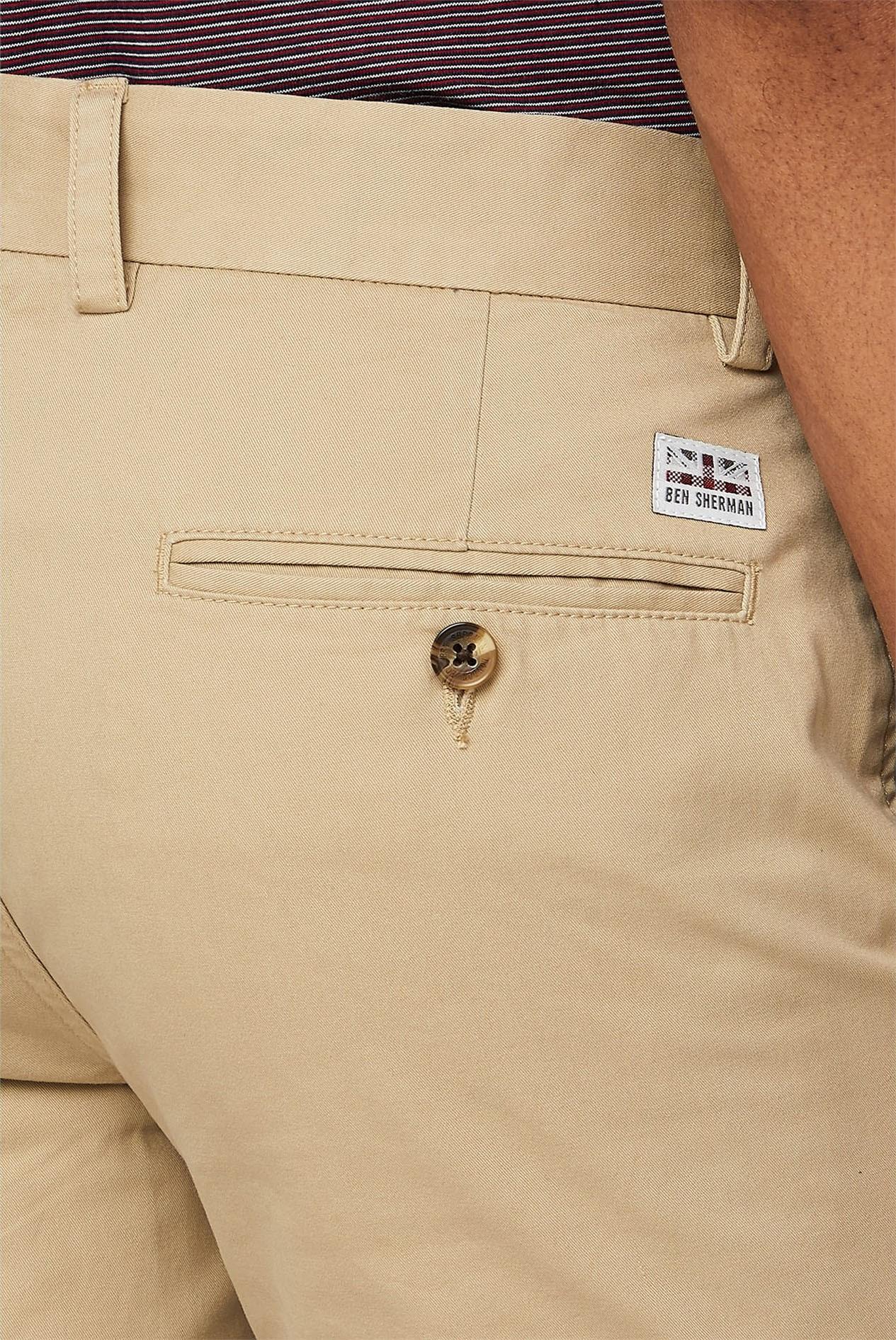 Ben Sherman Homme Script Short Jersey Pantalon Pantalon Léger