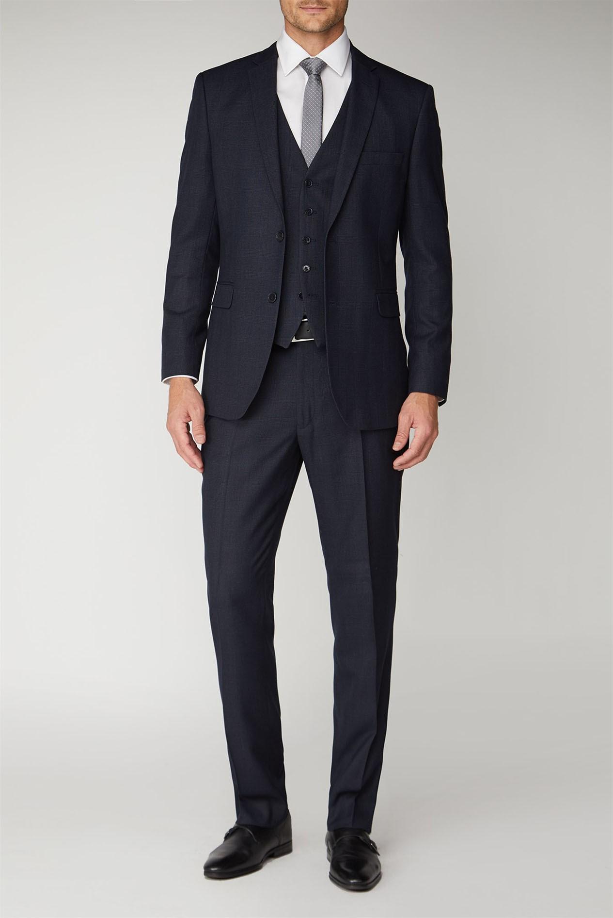 Men Suits for Man 3 pcs Jackets Coats Vest Pants 2 Vents 34 36 38 40 42 44 46 48