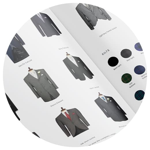 Browse the Young's Hire page for your perfect look