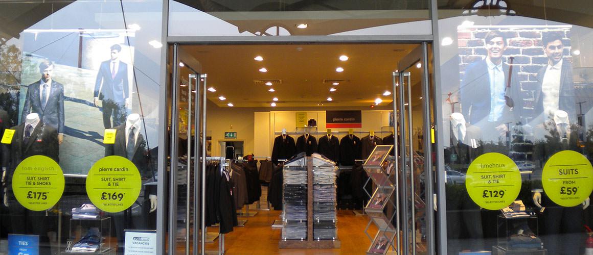 Shop Suit Direct Ashford | East Midlands Designer Outlet | Kent